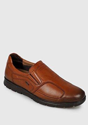 Resim Taba Deri Erkek Casual Ayakkabı