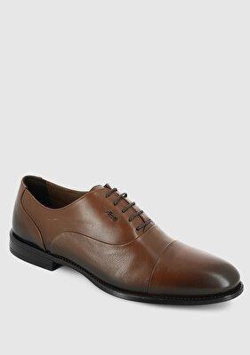 Resim Taba Deri Erkek Konfor Ayakkabı