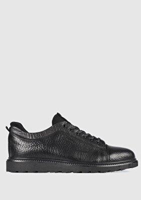 Resim Siyah Erkek Ayakkabı