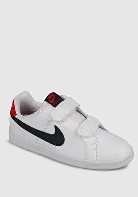 Resim Court Royale Beyaz Erkek Çocuk Spor Ayakkabısı 833536-107