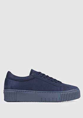 Resim Lacivert Kadın Sneaker