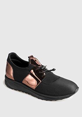 Resim Bronz Kadın Sneaker