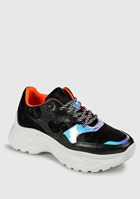 Resim Siyah Kadın Sneaker