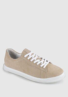 Resim Kum Deri Erkek Sneaker