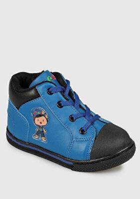 Resim Mavi Erkek Çocuk Bot