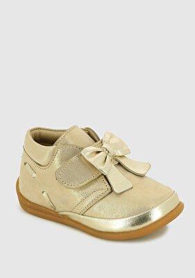 Resim Sarı Deri Kız Çocuk Casual Ayakkabı
