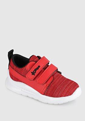 Resim Kırmızı Erkek Çocuk Sneaker