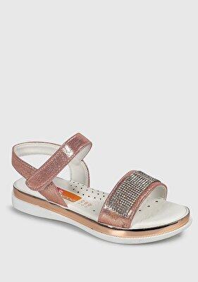 Resim Somon Kız Çocuk Düz Sandalet