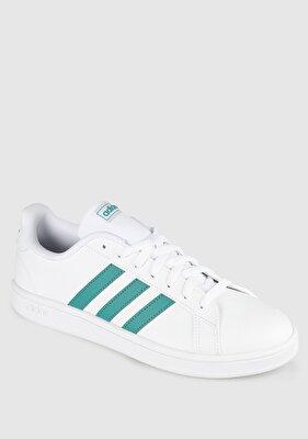 Resim Grand Court Base Beyaz Erkek Tenis Ayakkabısı Ee7905