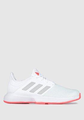 Resim Gamecourt W Beyaz Kadın Koşu Ayakkabısı Fu8130