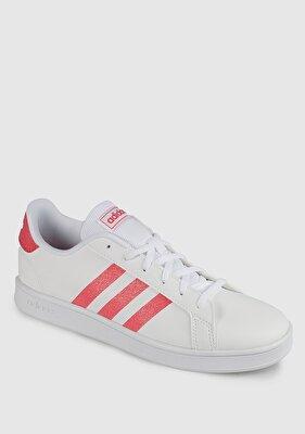 Resim Grand Court K Beyaz Kadın Tenis Ayakkabısı Eg5136
