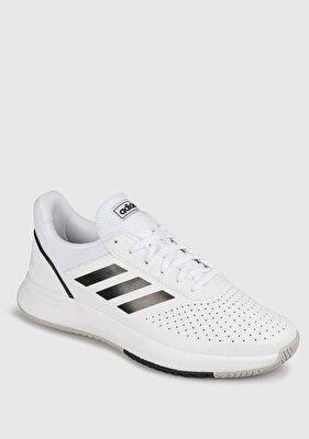 Resim Courtsmash Beyaz Erkek Tenis Ayakkabısı F36718