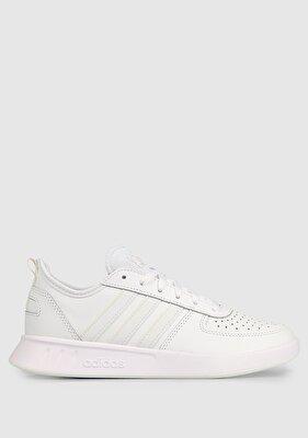 Resim Court80S Beyaz Kadın Tenis Ayakkabısı Fv9633