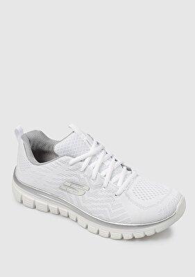 Resim Graceful Beyaz Kadın Sneaker 12615Wsl