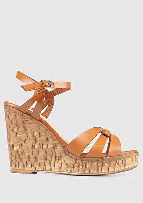 Resim Taba Kadın Topuklu Sandalet