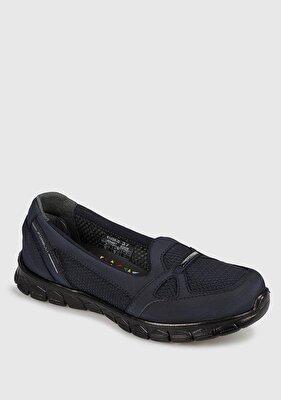 Resim Bordo Kadın Casual Ayakkabı