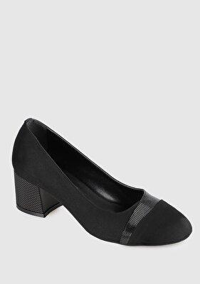Resim Siyah Kadın Topuklu Ayakkabı
