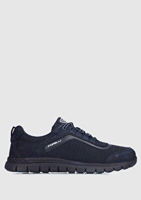 Resim Lacivert Erkek Sneaker