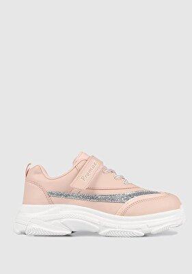 Resim Pudra Kız Çocuk Sneaker