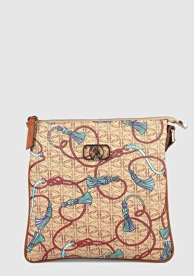 Resim Taba Kadın Çapraz Çanta
