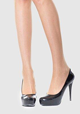 Resim Bej Kadın Külotlu Çorap