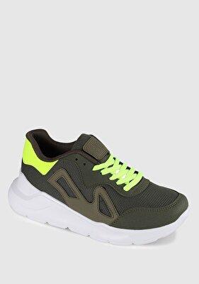 Resim Haki Erkek Sneaker