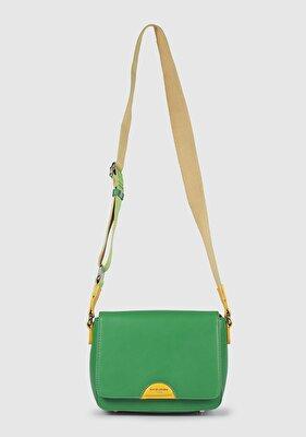 Resim Yeşil Kadın Çapraz Çanta