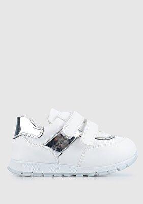Resim Beyaz Kız Çocuk Ayakkabı