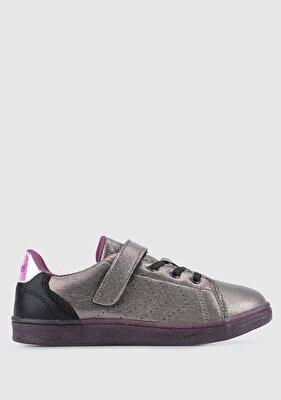 Resim Hml Busan Shıny Jr Gri Kız Çocuk Sneaker 212669