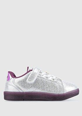 Resim Hml Busan Shıny Jr Gümüş Kız Çocuk Sneaker 212669