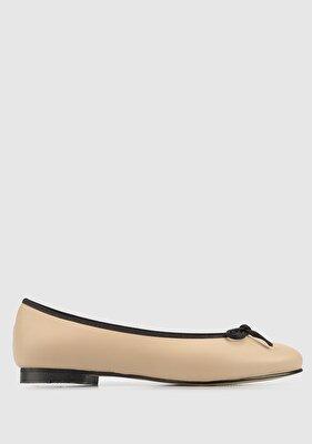 Resim Nude-Siyah Kadın Ayakkabı