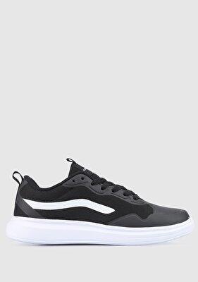 Resim Siyah-Beyaz Kadın Sneaker
