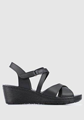 Resim Siyah Kadın Ayakkabı