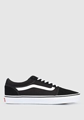 Resim Suede Canvas Siyah Beyaz Ward Erkek Sneaker VN0A36