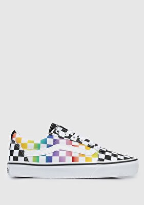 Resim Rainbow Check Ward Siyah Beyaz Kadın Sneaker VN0A3IUN3RL1