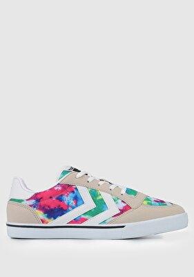 Resim Hml Stadıl Prınt  Krem Unisex Sneaker 212633
