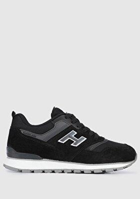 Resim Siyah-Koyu Gri Kadın Sneaker