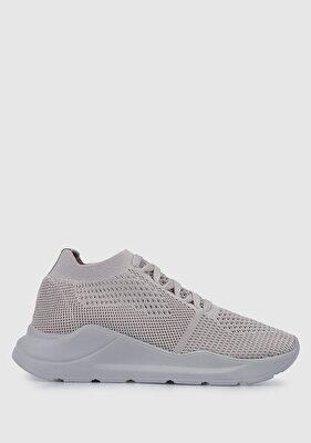 Resim Gri Kadın Sneaker