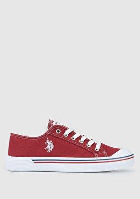 Resim Bordo Kadın Ayakkabı