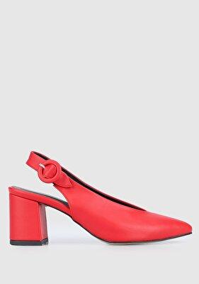 Resim Kırmızı Kadın Ayakkabı