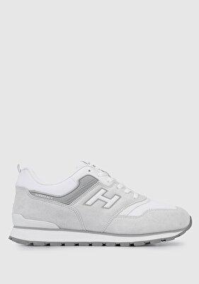 Resim Beyaz-Gri Erkek Sneaker
