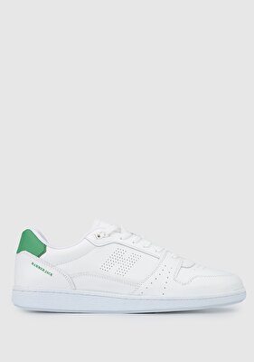 Resim Beyaz-Yesil Erkek Sneaker