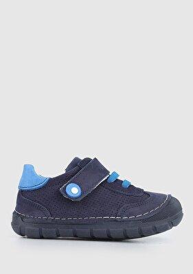 Resim Lacivert Erkek Çocuk Ayakkabı