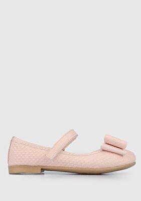 Resim Pudra Kız Çocuk Ayakkabı