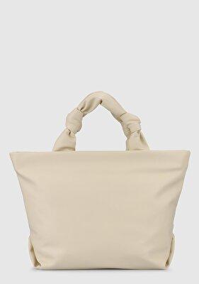 Resim Krem Kadın Çanta