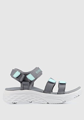 Resim Gri-Yeşil Kadın Sneaker