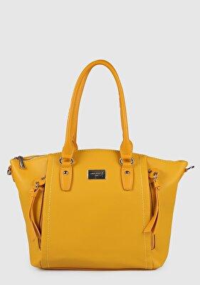 Resim Sarı Kadın Omuz Çantası