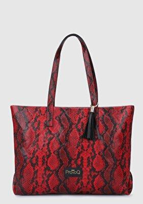 Resim Kırmızı Kadın Çanta