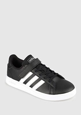 Resim Grand Court C Siyah Unisex Tenis Ayakkabısı Ef0108