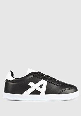 Resim Siyah-Beyaz  Erkek Çocuk Sneaker